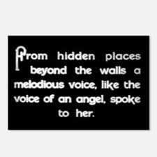 """""""Voice of an Angel"""" Postcards (Package of 8)"""