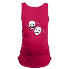 theater.png Maternity Tank Top