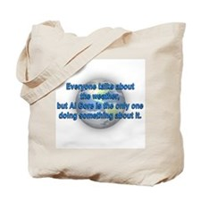 Global Warming Al Gore Tote Bag