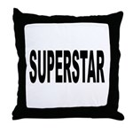 Superstar Throw Pillow