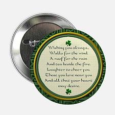 Irish Blessing Button