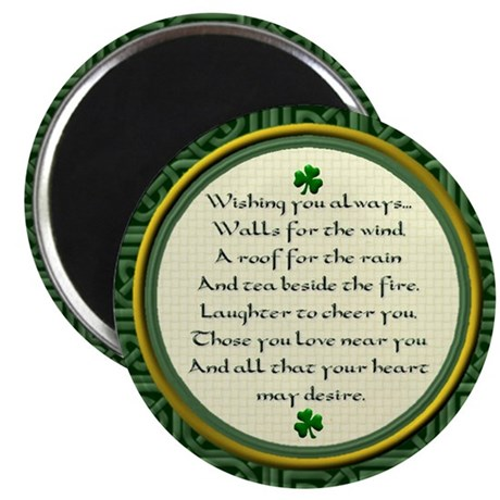"Irish Blessing 2.25"" Magnet (10 pack)"