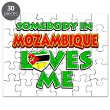 Somebody in Mozambique Loves me Puzzle