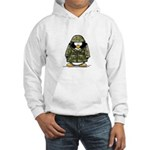 US Soldier Penguin Hooded Sweatshirt