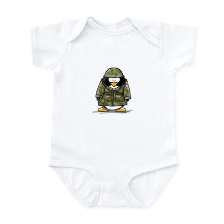 US Soldier Penguin Infant Bodysuit