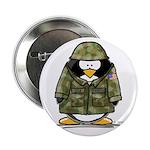 US Soldier Penguin Button
