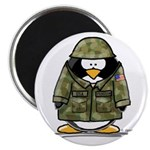 US Soldier Penguin Magnet