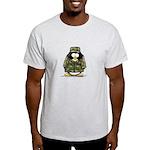 US Military Penguin Ash Grey T-Shirt