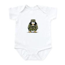 US Military Penguin Infant Bodysuit