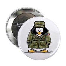 US Military Penguin Button