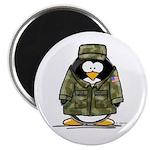 US Military Penguin Magnet