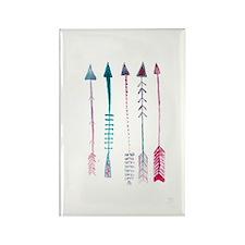 Five Arrows Rectangle Magnet