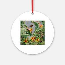 Botanical Gardens: Brazilian Climbi Round Ornament