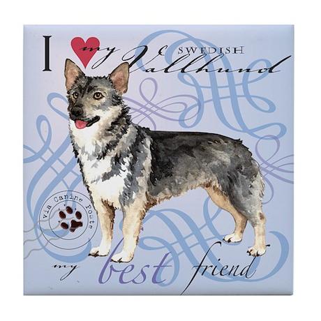 Swedish Vallhund Tile Coaster