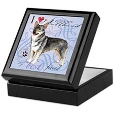Swedish Vallhund Keepsake Box