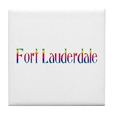 Fort Lauderdale Tile Coaster