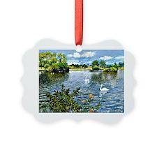 A Long Island Lake, William Merri Ornament