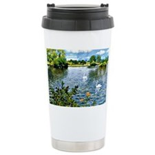 A Long Island Lake, William Mer Travel Mug