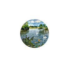 A Long Island Lake, William Merritt Ch Mini Button
