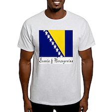 Bosnia & Herzegovina Ash Grey T-Shirt