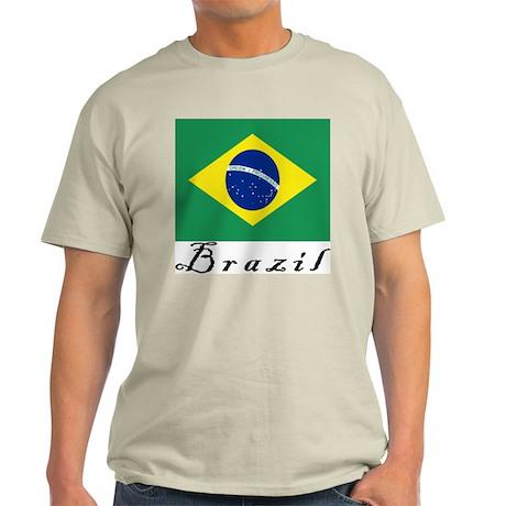 Brazil Ash Grey T-Shirt
