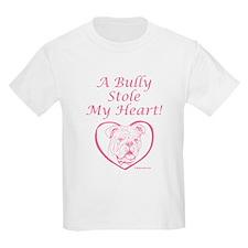 """""""My Heart"""" Pink Kids T-Shirt"""