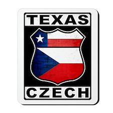 Texas Czech American Mousepad