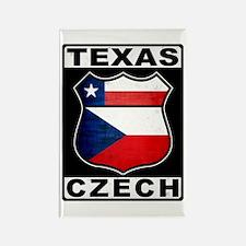 Texas Czech American Magnets