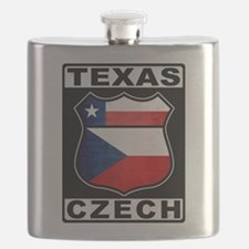 Texas Czech American Flask