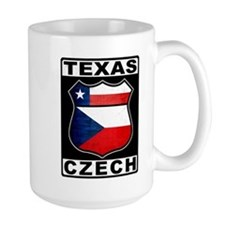 Texas Czech American Mugs