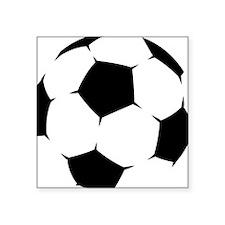 Black Soccer Ball Sticker