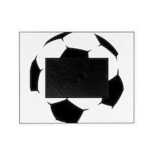 Black Soccer Ball Picture Frame