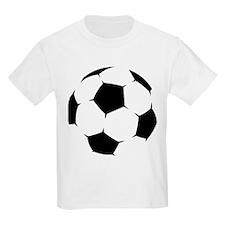Black Soccer Ball T-Shirt