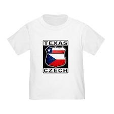 Texas Czech American T-Shirt