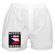 Texas Czech American Boxer Shorts