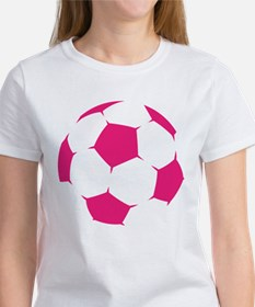 Pink Soccer Ball T-Shirt