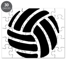 Black Volley Ball Puzzle