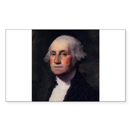 George Washington Rectangle Sticker