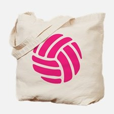 Pink Volley Ball Tote Bag
