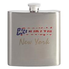 Brooklyn Flag Flask