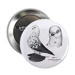 Warsaw Butterfly Pigeon Button
