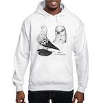 Warsaw Butterfly Pigeon Hooded Sweatshirt