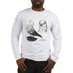 Warsaw Butterfly Pigeon Long Sleeve T-Shirt