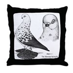 Warsaw Butterfly Pigeon Throw Pillow