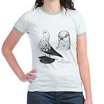 Warsaw Butterfly Pigeon Jr. Ringer T-Shirt