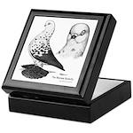 Warsaw Butterfly Pigeon Keepsake Box