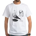 Warsaw Butterfly Pigeon White T-Shirt