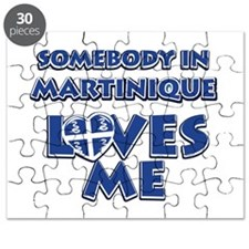 Somebody in Martinique Loves me Puzzle