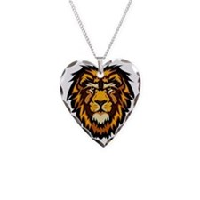 Lion Face Necklace