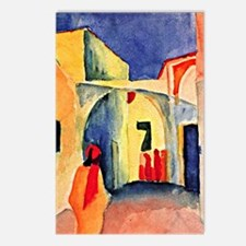 August Macke painting, A  Postcards (Package of 8)